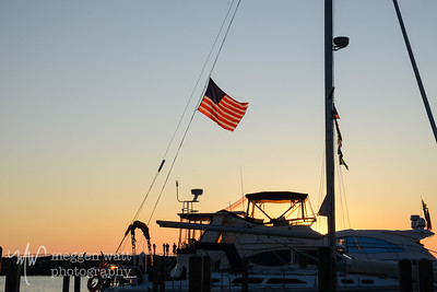 Sunset Leland Harbor-1320