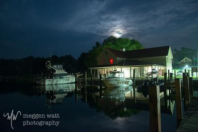 TLR 20150907-5906 Moonlight Over Leland Harbor