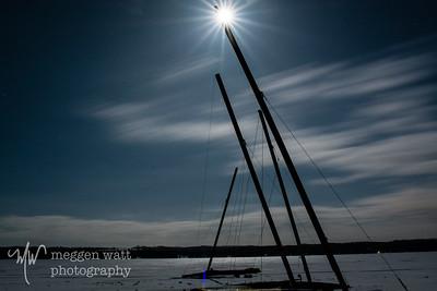 TLR-20150309-1830 - Ice Boats by Moonlight, Lake Leelanau
