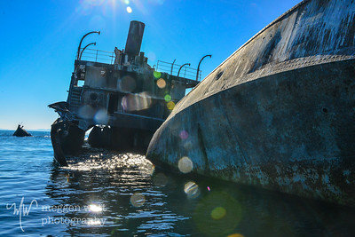 TLR-20140929 Francisco Morazan Wreck by South Manitou Island