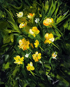 Yellow Fairy Flowers