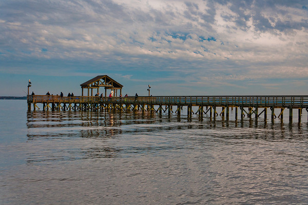 Fishing Pier at Leesylvania State Park, Virginia