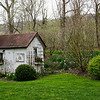Charming garden shed