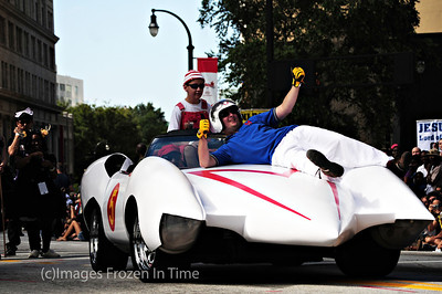 Speed Racer and the Mach 5