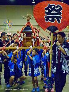 O-mikoshi (portable shrine) Parade
