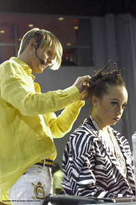 FHI Heat - Hair Stylist: Jason Griggers - Hair Style: Chop Sticks Set