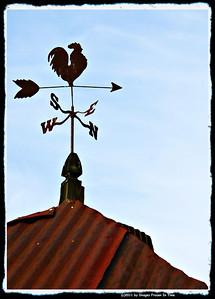 Rooster Weather-Vane - Rutledge, GA