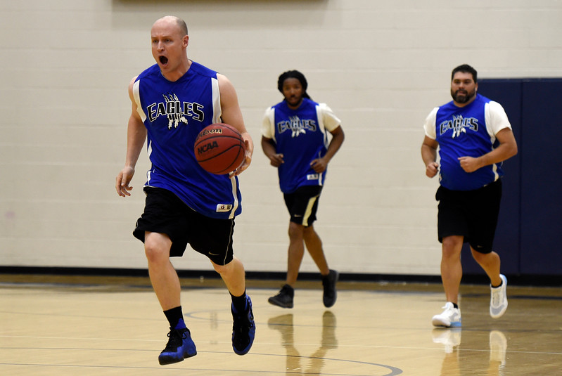 Legacy vs Broomfield Staff Basketball Game