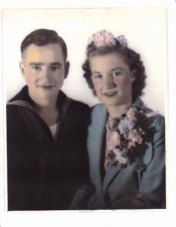 Nora Jennifer James married Allen Oscar Killmer, October 26, 1942, Texas