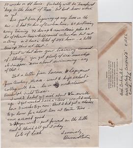 1942-letter from Bernard Corbin, page 2
