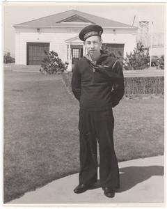 Stanley James - Fireman 1/C - Coast Guard-Fort Tilden Base, New York, March 1945