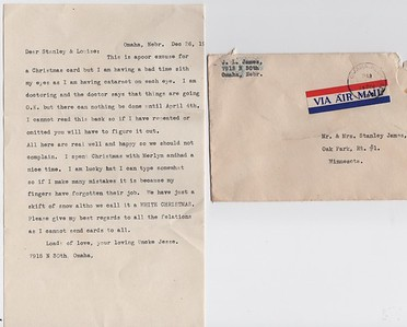 SJames-ltr from Uncle Jesse L. James-Omaha-1963