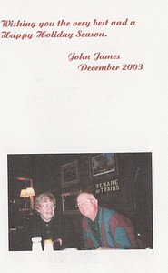 S.James-BD Card from John James, 12-2003, included this photo.  (page 2)