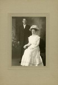 John Nelson and Annie Englund 7-8-1909