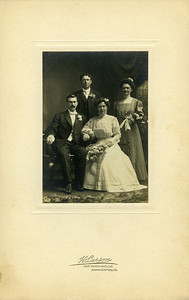 Edith Nelson and Carl Rollen, 10-30-1909 - Charles Berquist - Best man, no name given for brides maid.