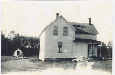 Stanley James' House, outside of Princeton, MN.