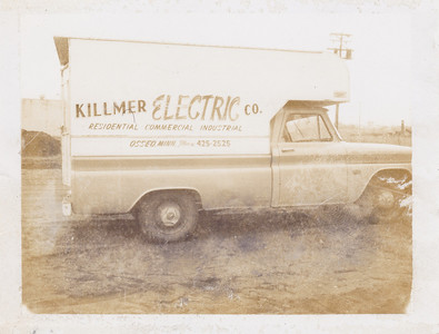 Killmer Co. truck.  Date of truck??