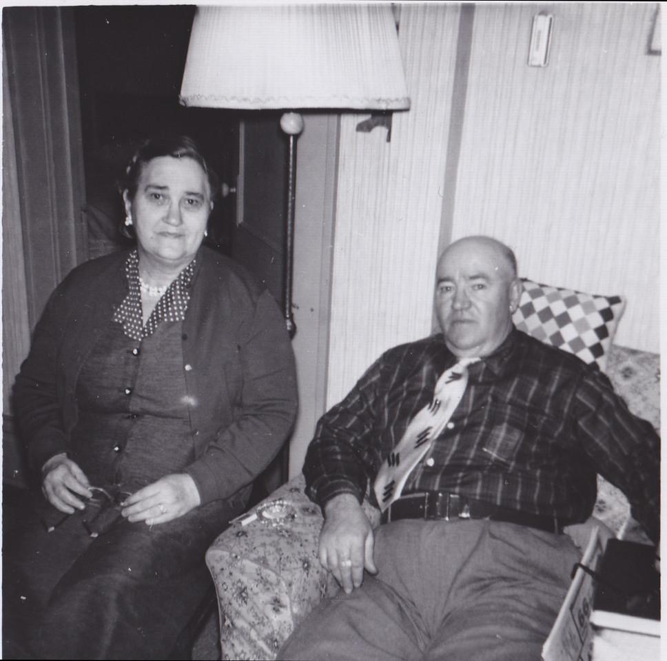 Oscar Dodds, GrandmaMary's Brother  1960