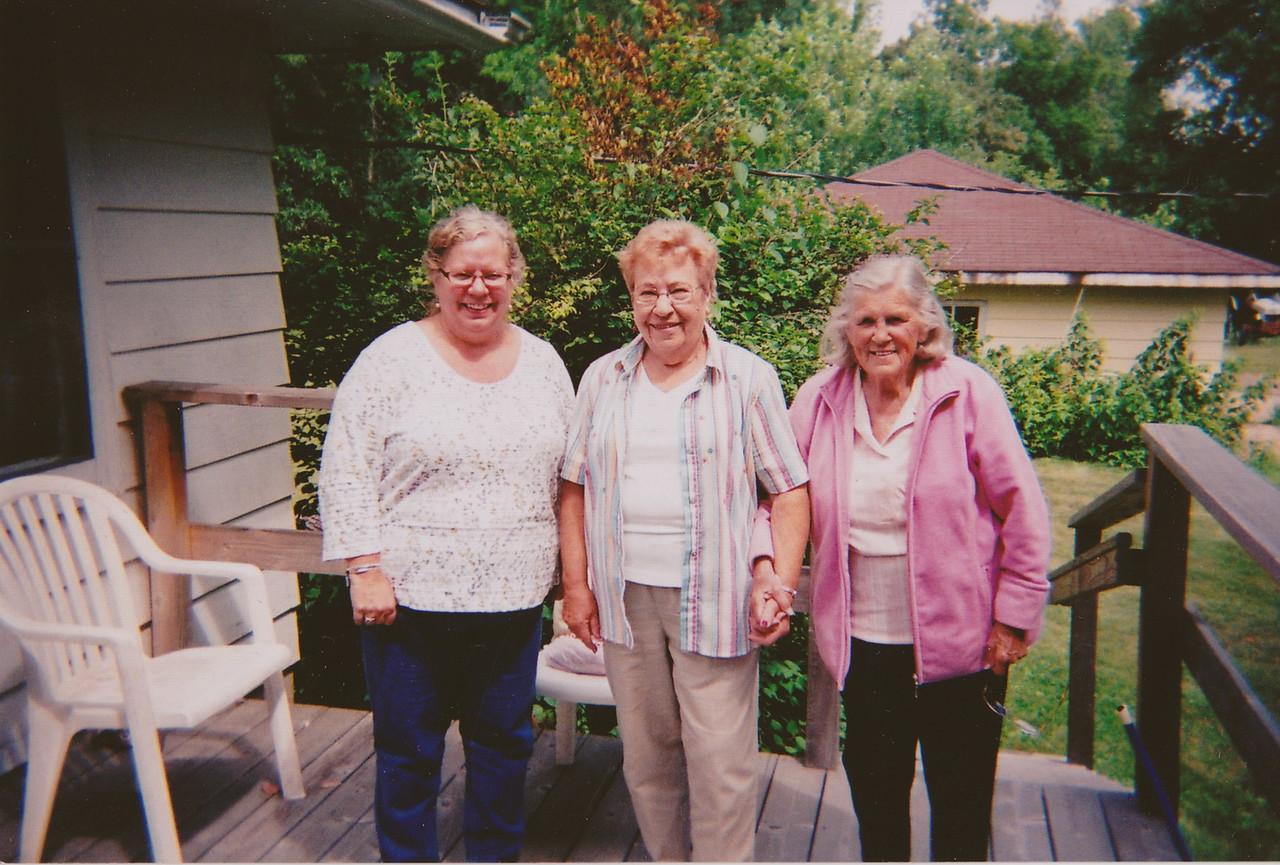 Cindy, Ruth, Evelyn