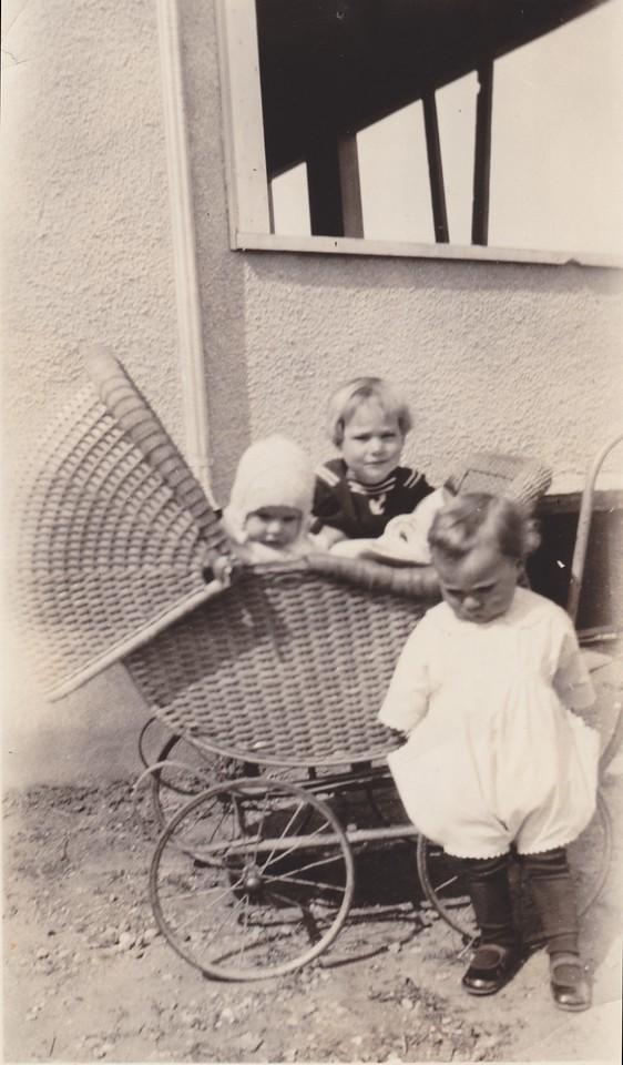 June 1924, Lorna, Allen, Russell Killmer