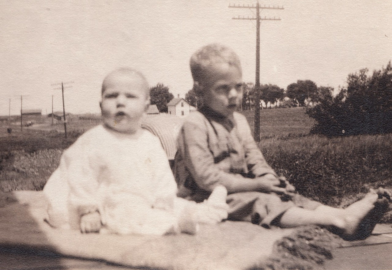 Allen and Byron Killmer - June 19, 1921