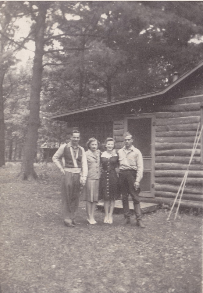 Allen and Nora Killmer, and unknown couple.