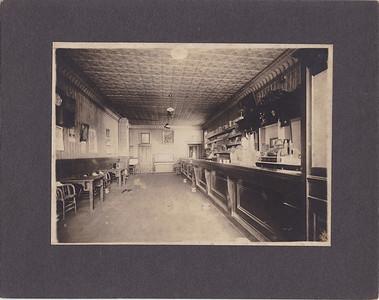 Princetons Bar, Osseo, MN 1915  Hervey Potvin