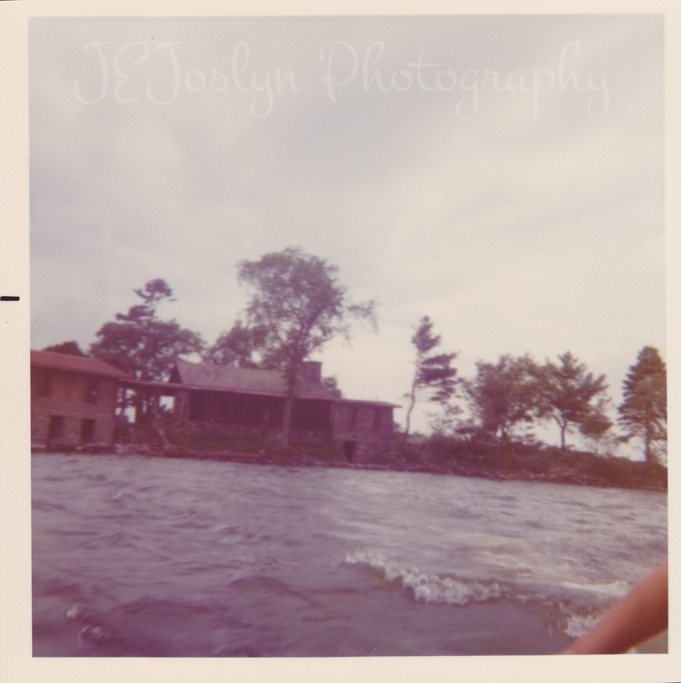Spider Island, Mille Lacs Lake  1960's