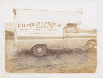 Killmer Co. truck.  Date of truck??