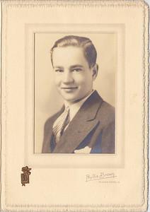 Osseo High School Graduation photo-Allen Oscar Killmer, probably 1936