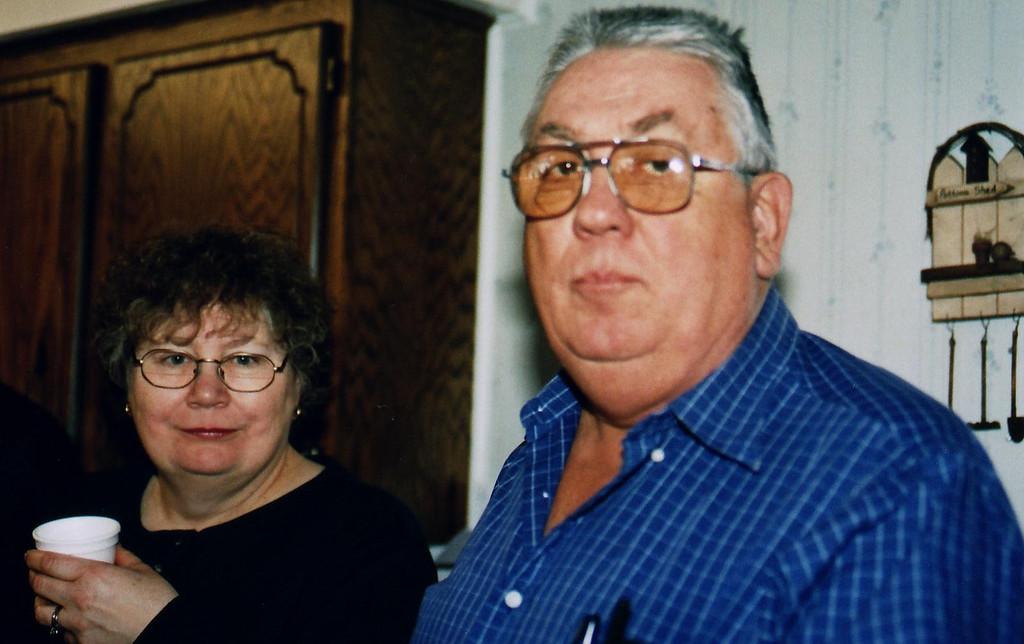Mary and Arthur H.  Art is Mom's sister Mini's son.