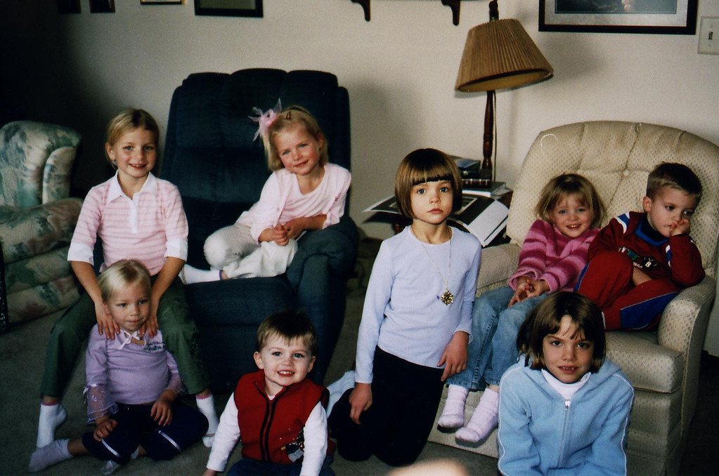 Back-P, G chair-H, T front-C, Cody, K, S