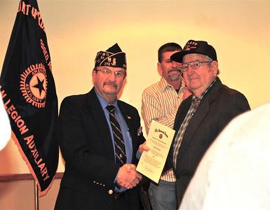American Legion 95th birthday, honoring Dads 68 year membership