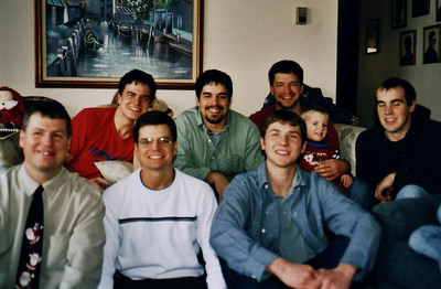 back-Charles, Adam, Paul (and son T) front-Matt, Wayne, Ahron, Jerermy