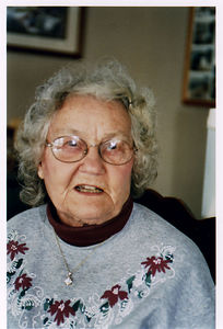 LouiseJ, wife of Mom's brother Stanley J.