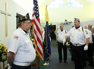 Changing of the Honor Guard