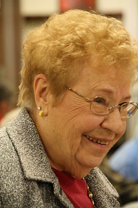 October 19, 2009, Funeral of my Aunt Lorna, Lorna Killmer Tonn, Osseo, MN.  Lorna's sister Ruth