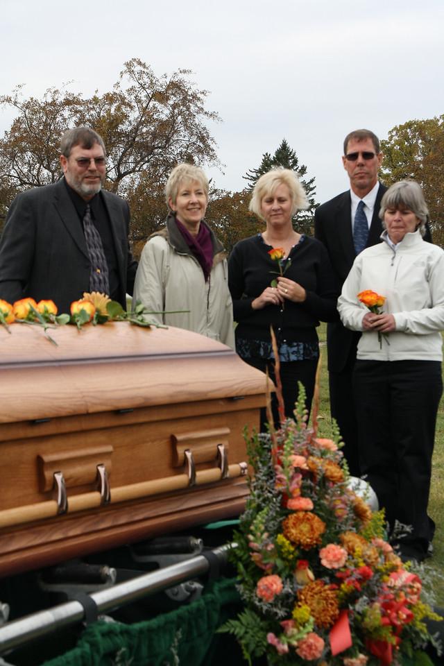 October 19, 2009, Funeral of my Aunt Lorna, Lorna Killmer Tonn, Osseo, MN.