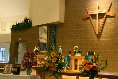 Scenes for Tom Tonn's family, Funeral 7-24-2014.