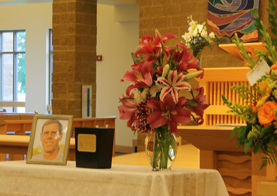 Scenes for Tom Tonn's family, Funeral 7-24-2014.