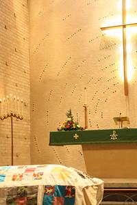 October 19, 2009, Funeral of my Aunt Lorna, Lorna Killmer Tonn, Osseo, MN.  St. Paul's Lutheran Church