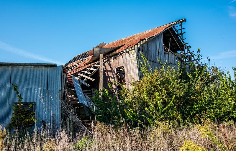 Great-Grandpa's Barn