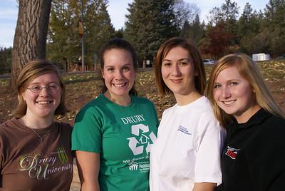 L-R: Christina Bornemann, Emily Christmas, Emma Haymaker, Emily Stein