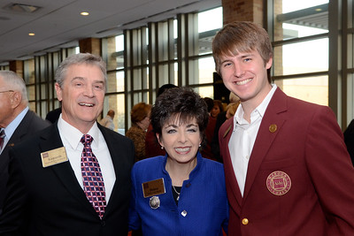Kenneth Von Storch, Debra Von Storch, James Havlock '13