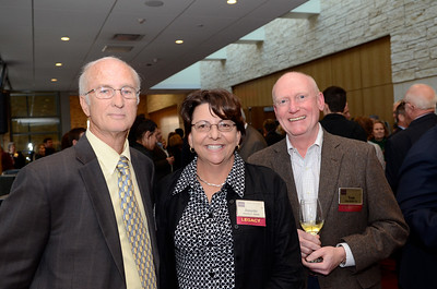 Doug Smith, Janette Smith, Tom Ruffer '81