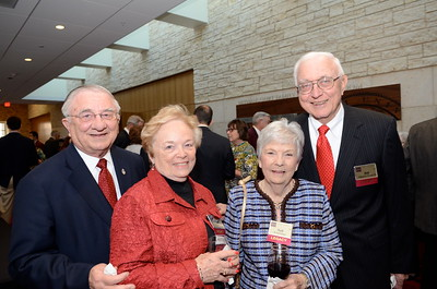 Bill Cicherski '54, Sue Cicherski, Nell Neinart, Bill Neinart '50