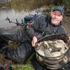 Will Raison displays a net full of F1 carp caught from Gold Valley's Middle Lake on feeder and pole.