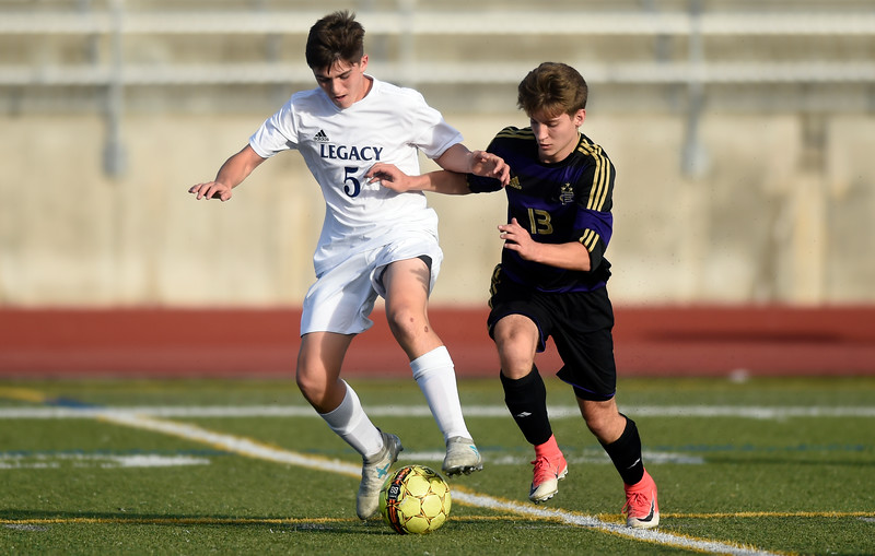 Legacy vs Ft. Collins boys soccer