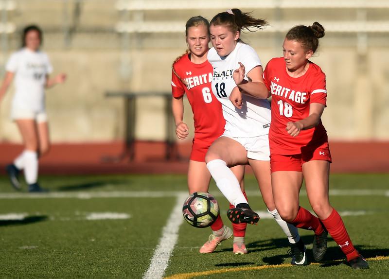 Legacy vs Heritage Girls Soccer