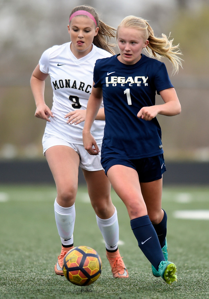 Legacy vs Monarch Girls Soccer